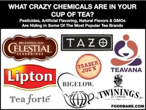 tea, gmo, pesticides, vegan, healthy, cancer,