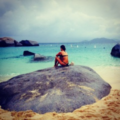 virgin gorda, baths, vegan, bvi