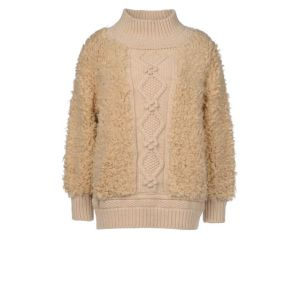 stella mccartney, faux fur, sweater, vegan