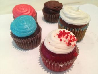 Picutre of assorted cupcakes